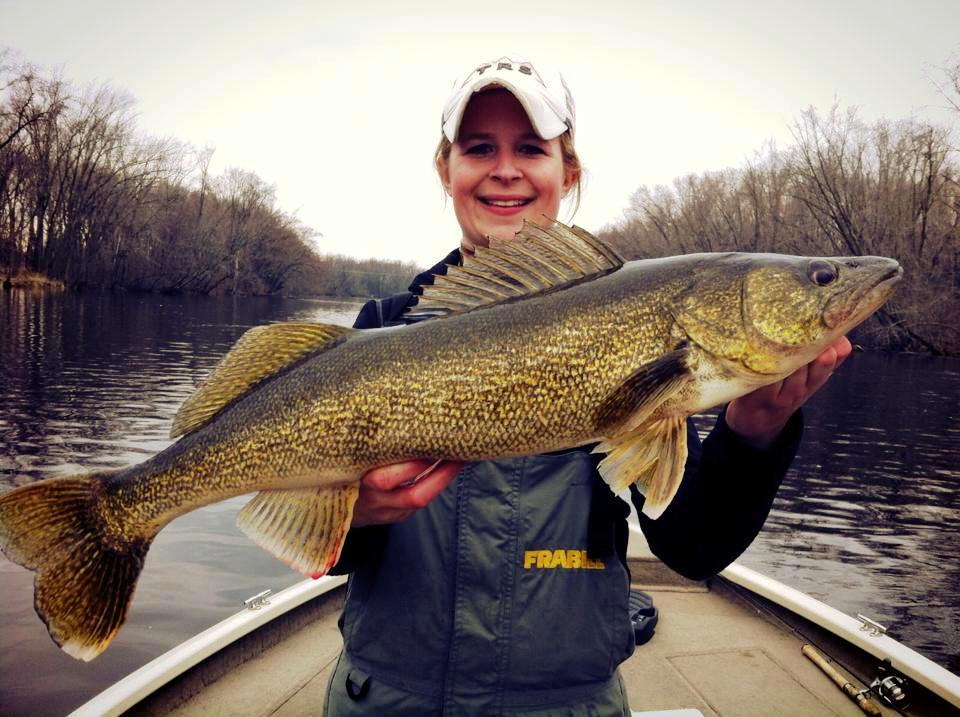Fox river wolf river and lake winnebago fishing report 4 for Eagle river wi fishing report