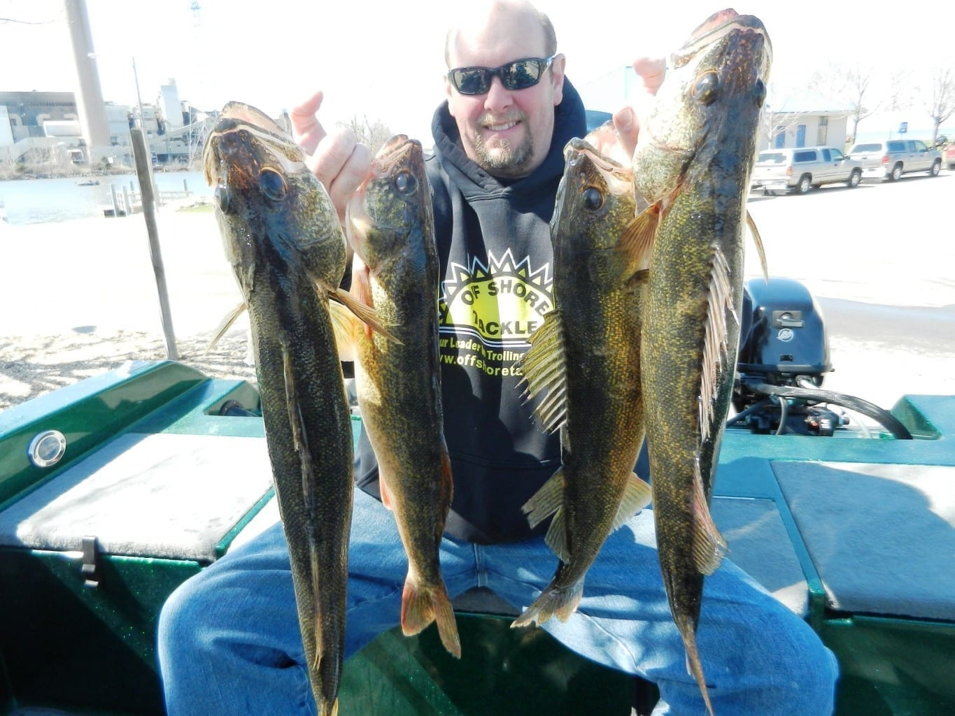 Bay of green bay lake winnebago wolf river and fox for Green river fly fishing report